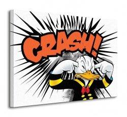 Obraz na płótnie - Donald Duck (Crash) - 80x60cm