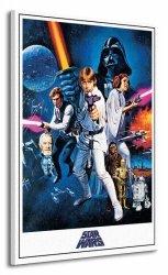 Obraz na płótnie - Star Wars Episode IV (A New Hope)