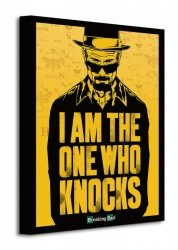 Obraz do salonu - Breaking Bad (I am the one who knocks)