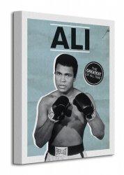 Muhammad Ali (Greatest) - Obraz na płótnie
