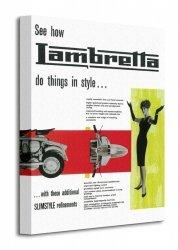 Lambretta (Do things in Style) - Obraz na płótnie