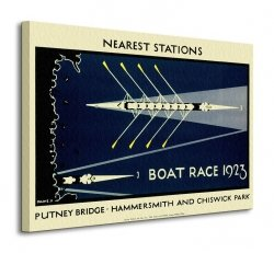 Transport For London (Boat Race 1923) - Obraz na płótnie