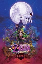 The Legend Of Zelda (Majora'S Mask) - plakat