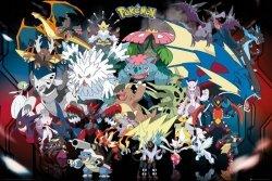 Pokemon Postacie - plakat
