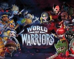 World of Warriors - Postacie - plakat