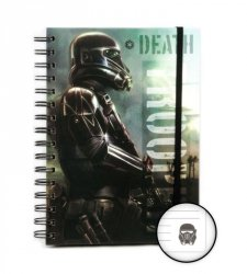 Star Wars Rogue One Death Trooper - notes A5
