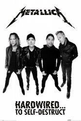 Metallica Hardwired To Self Destruct - plakat