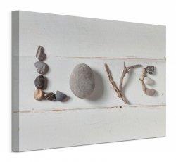 Stone Love - Obraz na płótnie
