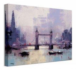 St Paul'S And Tower Bridge - obraz na płótnie