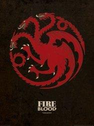 Game of Thrones Targaryen - reprodukcja