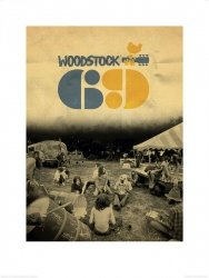 Reprodukcja na ścianę - Woodstock 69