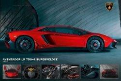 Lamborghini Aventador LP 750-4 Superveloce - plakat