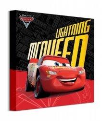 Cars 3 Lightning McQueen - obraz na płótnie