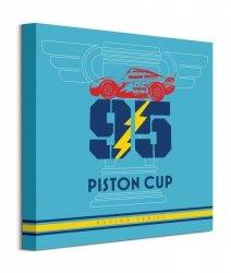 Cars 3 Piston Cup - obraz na płótnie