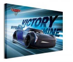 Cars 3 Victory Is Mine - obraz na płótnie