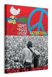 Woodstock - obraz na płótnie