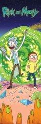 Plakat z serialu - Rick and Morty (Portal)