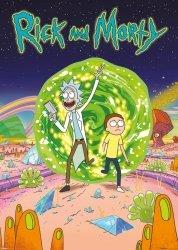 Plakat z filmu - Rick and Morty (Portal)