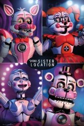 Five Nights at Freddy's Sister Location - plakat