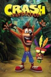 Crash Bandicoot - plakat z gry