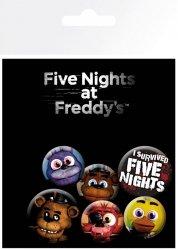Five Nights at Freddy's - przypinki
