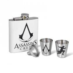 Assassin's Creed Logo - piersiówka z kieliszkami