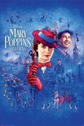 Mary Poppins Returns Spit Spot - plakat