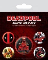 Deadpool Outta The Way - przypinki