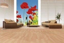 Fototapeta na ścianę - Pole Maków - 183x254 cm