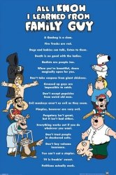Family Guy (All I Know) - plakat