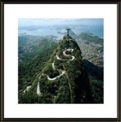 Rio De Janeiro widok - obraz w ramie