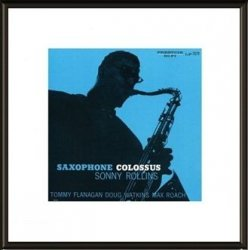 Obraz na ścianę - Sonny Rollins Saxophone Colossus