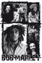 Bob Marley (photo collage) - plakat