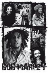 Bob Marley(photo collage) - plakat