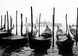 Fototapeta do salonu - Gondole w Wenecji - 254x183 cm
