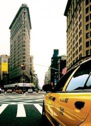 Fototapeta na śćianę - Pochmurny dzień, New York - 183x254 cm