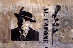 Fototapeta na ścianę - Al Capone - 175x115 cm