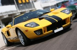 Fototapeta na ścianę - Super car at race circuit - 175x115 cm