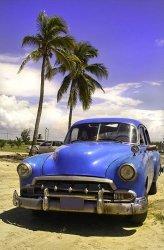 Fototapeta na ścianę - Kuba, limuzyna - 115x175 cm