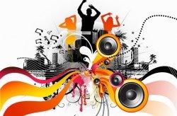 Fototapeta na ścianę - Electric freeflow Dance - 175x115 cm