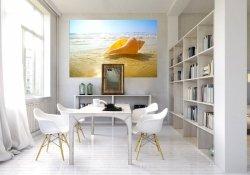 Fototapeta na ścianę - Piasek, muszla i ocean - 175x115 cm