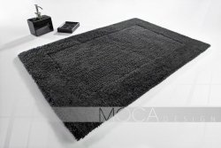 Dywanik łazienkowy - Grafit - 60x105cm
