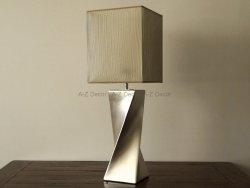 Lampa stołowa - Złota - TWISS - 25x73cm