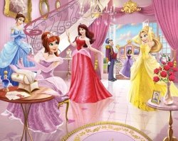 Fototapeta dla dzieci - Fairy Princess 2 - 3D - Walltastic