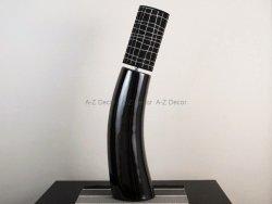 Lampa stołowa - Czarna - OZE - 16x18x78