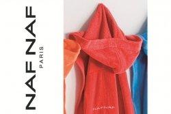 Czerwony Szlafrok - 100% Bawełna - XL - NAF NAF