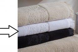 Ręcznik - Minos Biały - NAF NAF - 30x50 cm