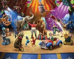 Fototapeta dla Dzieci - The Circus - 3D - 244x305cm