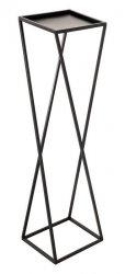 Kwietnik metalowy - Stojak wielofunkcyjny skośny 93x28cm