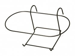 Kosz na doniczkę -  metalowy 40-ka owal (10szt.)